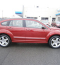 dodge caliber 2007 red wagon r t gasoline 4 cylinders all whee drive automatic 13502