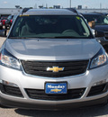 chevrolet traverse 2013 silver suv ls gasoline 6 cylinders front wheel drive 6 spd auto onstar, 6 months of directionslpo,all wthr rr car 77090