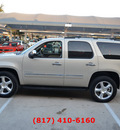 chevrolet tahoe 2012 gold suv ltz w navigation w dvd 8 cylinders automatic 76051