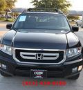honda ridgeline 2010 black pickup truck rtl w navi 6 cylinders automatic 76051