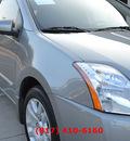 nissan sentra 2011 silver sedan 2 0 s 4 cylinders automatic 76051
