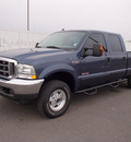 ford f 250 super duty 2004 blue lariat diesel 8 cylinders 4 wheel drive automatic with overdrive 99352