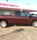 dodge ram 1500 2004 red pickup truck slt gasoline 8 cylinders rear wheel drive automatic 75901