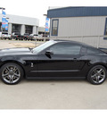 ford shelby gt500 2012 black coupe gasoline 8 cylinders rear wheel drive 6 speed manual 77706