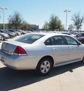 chevrolet impala 2011 silver sedan lt fleet flex fuel 6 cylinders front wheel drive automatic 76137