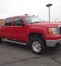gmc sierra 2500hd 2008 red slt z71 8 cylinders automatic with overdrive 99336