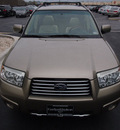 subaru forester 2008 beige wagon 2 5 x l l bean edition gasoline 4 cylinders all whee drive 4 speed automatic 77802