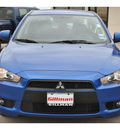 mitsubishi lancer 2010 blue sedan es gasoline 4 cylinders front wheel drive automatic 78233