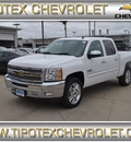 chevrolet silverado 1500 2013 white lt flex fuel v8 2 wheel drive automatic 78521
