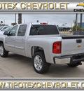 chevrolet silverado 1500 2013 silver lt flex fuel v8 2 wheel drive automatic 78521