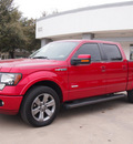 ford f 150 2012 red fx2 gasoline 6 cylinders 2 wheel drive automatic 76011