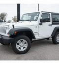 jeep wrangler 2013 white suv sport gasoline 6 cylinders 4 wheel drive not specified 77515