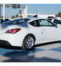 hyundai genesis coupe 2013 white satin pearl coupe 2 0t premium gasoline 4 cylinders rear wheel drive automatic 77094