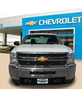chevrolet silverado 2500hd 2013 white work truck gasoline 8 cylinders 4 wheel drive automatic 75067