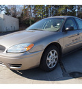 ford taurus 2007 gold sedan se gasoline 6 cylinders front wheel drive automatic 28217
