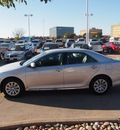 toyota camry 2012 silver sedan le gasoline 4 cylinders front wheel drive automatic 76053