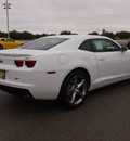 chevrolet camaro 2013 white coupe lt gasoline 6 cylinders rear wheel drive 6 speed automatic 78224