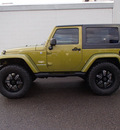 jeep wrangler 2007 green suv sahara gasoline 6 cylinders 4 wheel drive automatic 98371