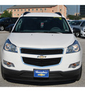 chevrolet traverse 2012 white suv ls gasoline 6 cylinders front wheel drive automatic with overdrive 77090