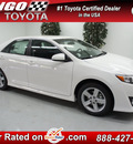 toyota camry 2012 white sedan se gasoline 4 cylinders front wheel drive automatic 91731