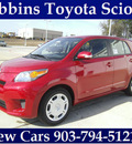 scion xd 2013 red hatchback gasoline 4 cylinders front wheel drive automatic 75569