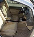 honda civic 2007 white sedan lx gasoline 4 cylinders front wheel drive automatic 76210