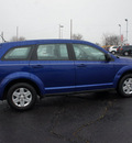 dodge journey 2012 blue gasoline 4 cylinders front wheel drive automatic 19153