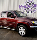 honda ridgeline 2007 dark cherry pickup truck rtl gasoline 6 cylinders all whee drive automatic 80905