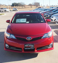 toyota camry 2012 red sedan se sport limited edition gasoline 4 cylinders front wheel drive automatic 76049