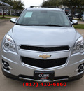 chevrolet equinox 2012 silver ltz flex fuel 6 cylinders all whee drive automatic 76051