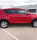 kia sportage 2012 dk  red lx gasoline 4 cylinders front wheel drive automatic 77375