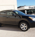 nissan rogue 2009 black suv sl gasoline 4 cylinders front wheel drive automatic with overdrive 76011