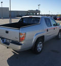 honda ridgeline 2007 silver pickup truck rt gasoline 6 cylinders all whee drive automatic 75119