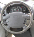 kia sedona 2005 blue van lx gasoline 6 cylinders front wheel drive automatic 33884