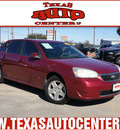 chevrolet malibu maxx 2006 dk  red hatchback lt gasoline 6 cylinders front wheel drive automatic 78666