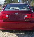 kia optima 2008 red sedan lx gasoline 4 cylinders front wheel drive automatic 27569