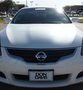 nissan altima 2011 white coupe 2 5 s gasoline 4 cylinders front wheel drive automatic 76018