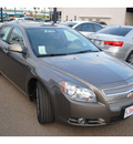 chevrolet malibu 2012 brown sedan ltz 6 cylinders automatic 78501