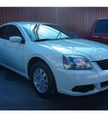 mitsubishi galant 2009 white sedan es 4 cylinders automatic 78748