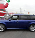 ford flex 2013 blue limited 6 cylinders automatic with overdrive 60546