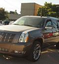cadillac escalade esv 2013 brown suv premium flex fuel 8 cylinders rear wheel drive automatic 77002
