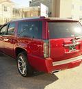 cadillac escalade esv 2013 red suv premium flex fuel 8 cylinders rear wheel drive automatic 77002