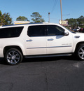 cadillac escalade esv 2011 white suv luxury flex fuel 8 cylinders all whee drive automatic 32401