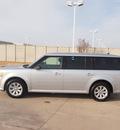 ford flex 2012 silver se gasoline 6 cylinders front wheel drive automatic 76108