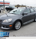 suzuki kizashi 2012 gray sedan sport gts gasoline 4 cylinders front wheel drive automatic 75062