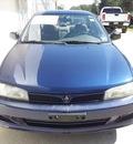 mitsubishi mirage 2001 blue sedan es gasoline 4 cylinders front wheel drive automatic 75964