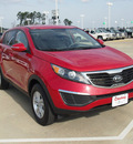 kia sportage 2011 red suv lx gasoline 4 cylinders all whee drive automatic 77656