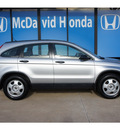 honda cr v 2009 silver suv lx gasoline 4 cylinders front wheel drive automatic 77034