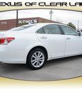 lexus es 350 2011 white sedan gasoline 6 cylinders front wheel drive automatic 77546