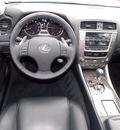 lexus is 250 2009 dk  gray sedan gasoline 6 cylinders rear wheel drive shiftable automatic 77074